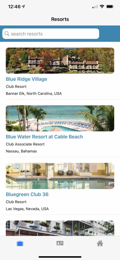 Main resorts